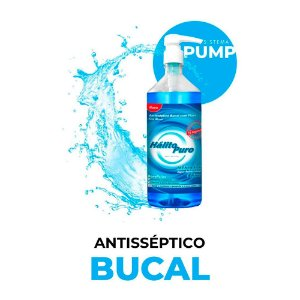 Antisséptico Bucal com Flúor Pump - Menta ICE