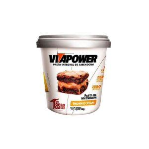 Pasta de Amendoim Integral Brownie Cream 1,005 kg Vita Power