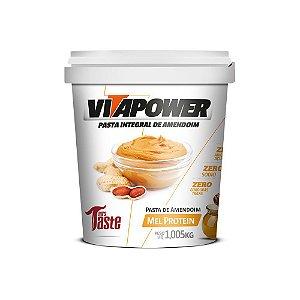 Pasta de Amendoim Integral Mel Protein 1,005 kg Vita Power