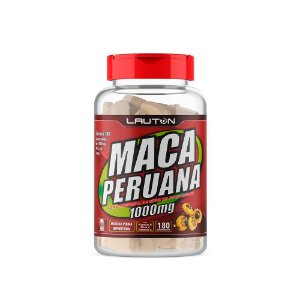 Maca Peruana 1000mg 180 caps Lauton Nutrition