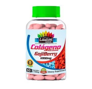 Colágeno Goji Berry 60 Tabletes 1000mg Lauton Nutrition