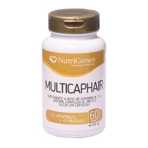 Multicap hair 60 capsulas Nutrigenes