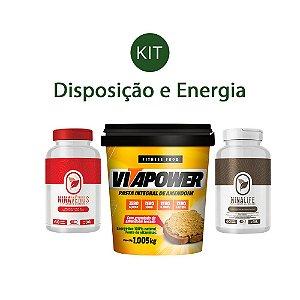 Kit Disposição e Energia - Nina Vênus, Nina Life e Pasta de Amendoim