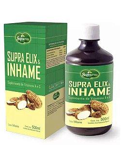 Supra Elix Inhame 500ml Suplemento de Vitaminas A e C Supra Ervas