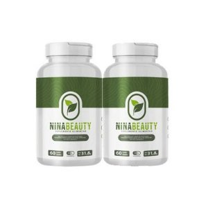 Nina Beauty - Emagrecedor Natural - Kit com 2