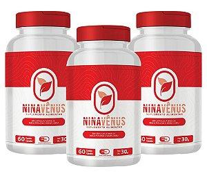 Nina Vênus - Maca Peruana e Maná Cubiu Kit com 3