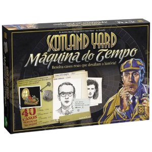 Jogo de Tabuleiro Máquina do Tempo Scotland Yard  - Grow