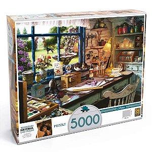 Quebra Cabeça Atelier Puzzle com 5000 Peças - Grow