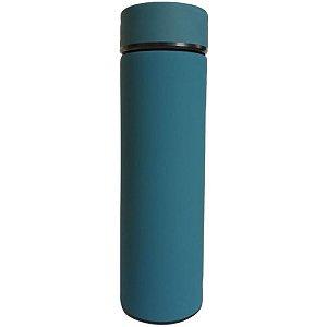 Garrafa Térmica Squeeze com Filtro Azul Petróleo - UnyHome