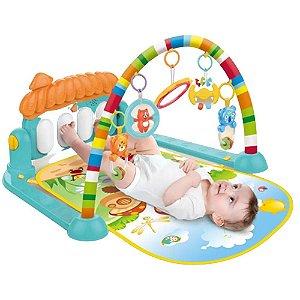 Tapete Musical c/ Pianinho Melodia Multicolorido Baby Style