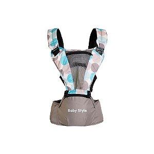 Canguru Hip Seat Multifuncional de 3 a 15kg - Baby Style