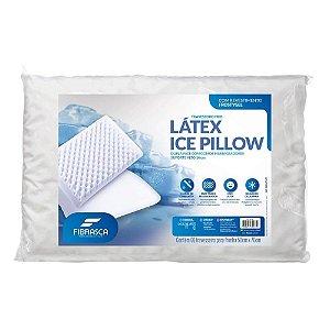 Travesseiro Látex Ice Pillow Dupla Face Gomos Massageadores