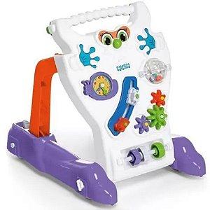 Brinquedo Educativo Infantil Andador Feliz Tateti - Calesita