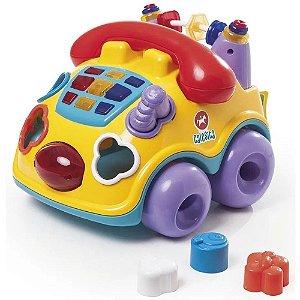 Brinquedo Musical Falafone Educativo Calesita Tateti