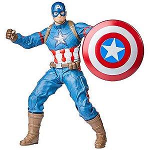 Boneco Capitão América Gigante Articulado 50cm Guerra Civil