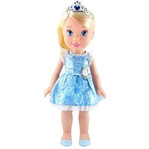 Boneca Cinderela Minha Primeira Princesa 30cm