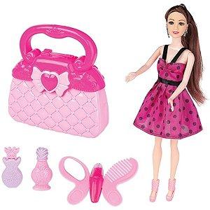 Boneca Lucy Top Model Fashion e Acessórios Divertidos