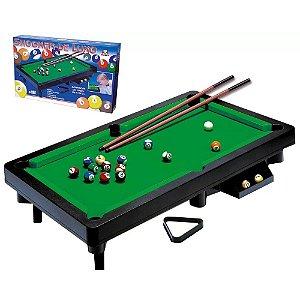 Mesa de Sinuca Snooker de Luxo 41x68cm - BRASKIT