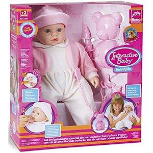 Boneca Interactive Baby com Inalação e Acessórios