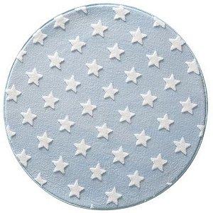 Tapete Infantil de Estrelas Mimo Azul de 1 Metro - Jolitex