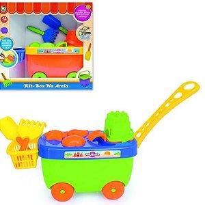 Kit Box na Areia Colorido - BS Toys