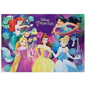 Tapete Infantil Princesas em Poliéster 70x100cm - Jolitex
