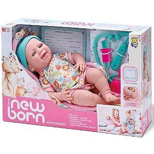 Boneca Reborn Maternidade com Acessórios New Born