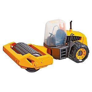 Construction Machine Compactor com Kit de Sinalização