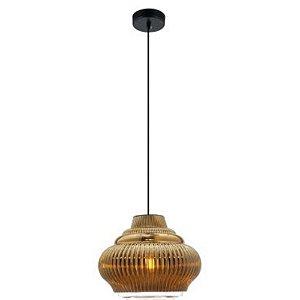 Pendente Decorativo Fuzy Dourado Ø27,5cm em Metal - BELLA