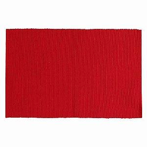 Jogo americano - Essencial - Indian Haveli Tecido - Vermelho 32cm x 47cm -