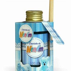 Difusor de Ambientes - Cheirinho de Neném - 100ml - Azul