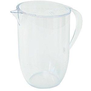 Jarra de Suco Água Fun 2 Litros Acrílico Cristal - Coza