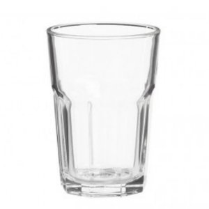 Jogo de Copo 6 peças de Vidro 355 ml - CEDAR GLASS - 12cm
