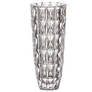 Vaso Decorativo de Vidro 13x28cm Transparente - TECNOSERV