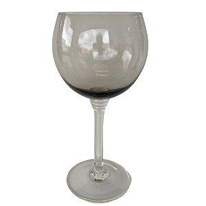 Jogo de 6 Taças Galla para Vinho em Vidro Fumê 400 ml