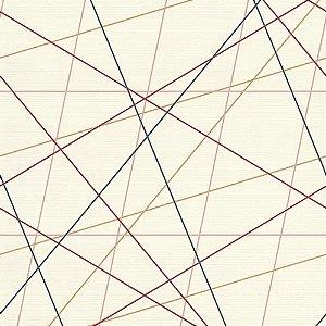 Papel de Parede Fio Colorido Choice II 0,53x10m - Finottato