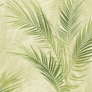 Papel de Parede Folha Verde Choice III 0,53x10m - Finottato