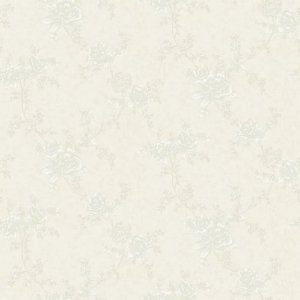 Papel de Parede Floral Creme Choice III 0,53x10m - Finottato