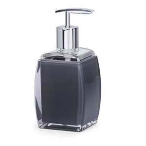 Porta Sabonete em Acrílico Sublime preto 190 ml – Brinox