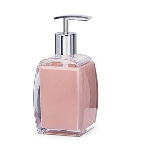Porta Sabonete de Acrílico Sublime Rosa 190 ml – Brinox