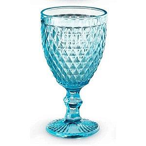 Jogo de 6 Taças em Vidro para Água Tiffany Verre 320ml Azul