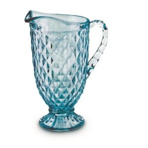 Jarra Verre 1,2L Azul Tiffany - Mimo Style