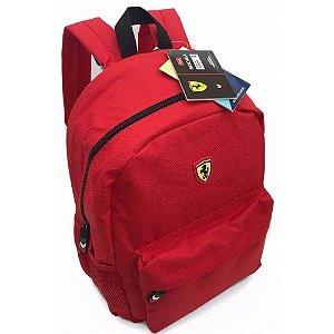 Mochila de Costa Ferrari em Poliéster 48cm Vermelha – Foroni