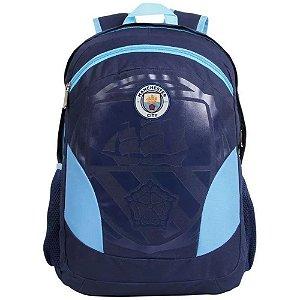 Mochila de Costa Manchester City em Poliéster 55cm Azul  DMW