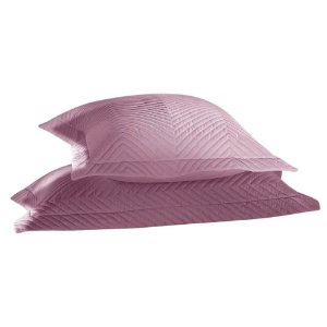 Porta Travesseiro Percal 200 Fios 70x50 cm Lilás 2 Peças
