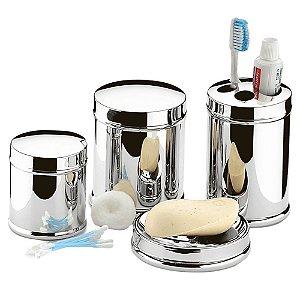 Conjunto Para Banheiro Inox 4 Peças Decorline - Brinox