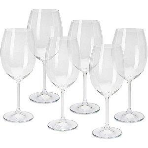 Conjunto de Taças para Vinho Tinto 6 Peças 450 ml - Bohemia