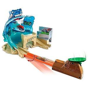Pista Hot Wheels City Batalha na Praia do Tubarão - Mattel