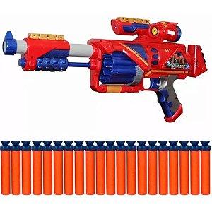 Lançador De Dardo Nerf Soft Bullet Blaster Spider Man