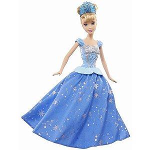 Boneca Princesas Disney Cinderela Baile Encantado - Mattel